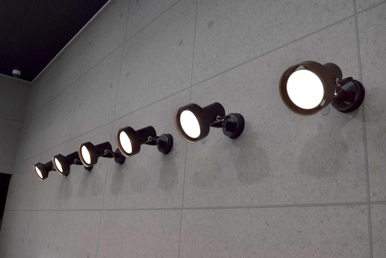 LEDスポットライト5連