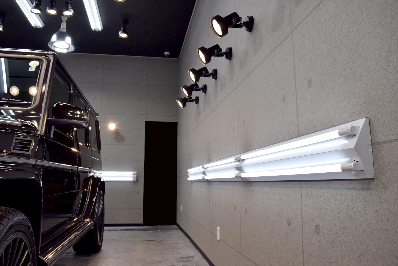 LEDスポットライト側面1